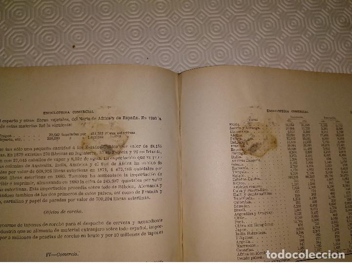 Libros antiguos: ENCICLOPEDIA COMERCIAL TRATADO COMPLETO. 3 TOMOS. ANTONIO TORRENTS MONNER. BARCELONA 1885-88-89. - Foto 7 - 146050594