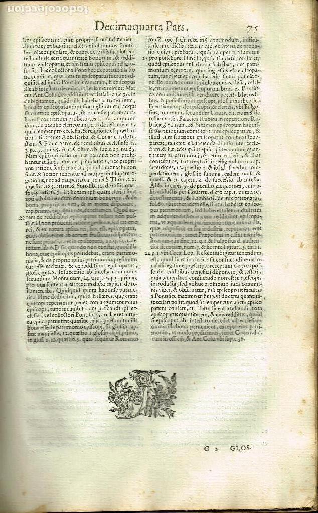 Libros antiguos: SPECULUM TESTAMENTORUM THESAURUS DOCT D.ESPINO DE CÁCERES SALAMANCA ACADEMIA VENETIIS 1598 PERGAMINO - Foto 3 - 146343534