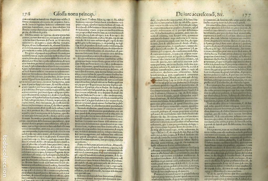 Libros antiguos: SPECULUM TESTAMENTORUM THESAURUS DOCT D.ESPINO DE CÁCERES SALAMANCA ACADEMIA VENETIIS 1598 PERGAMINO - Foto 7 - 146343534