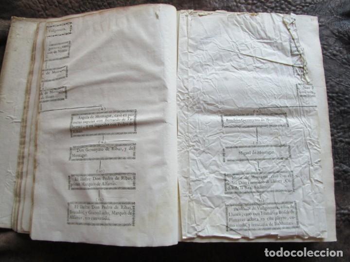 Libros antiguos: libro 17 actas y pleitos medianos del siglo XVIII pleito barcelona vic cataluña ... ver descripcion - Foto 10 - 146666006