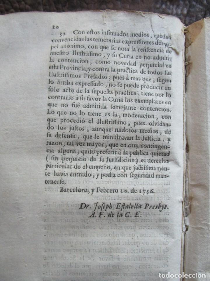 Libros antiguos: libro 17 actas y pleitos medianos del siglo XVIII pleito barcelona vic cataluña ... ver descripcion - Foto 25 - 146666006