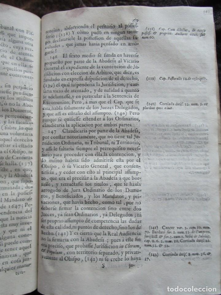 Libros antiguos: libro 17 actas y pleitos medianos del siglo XVIII pleito barcelona vic cataluña ... ver descripcion - Foto 26 - 146666006