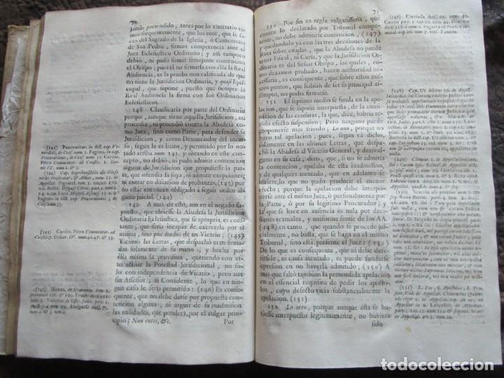 Libros antiguos: libro 17 actas y pleitos medianos del siglo XVIII pleito barcelona vic cataluña ... ver descripcion - Foto 27 - 146666006