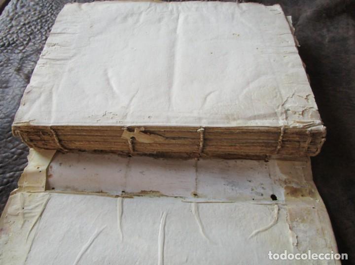 Libros antiguos: libro 17 actas y pleitos medianos del siglo XVIII pleito barcelona vic cataluña ... ver descripcion - Foto 33 - 146666006