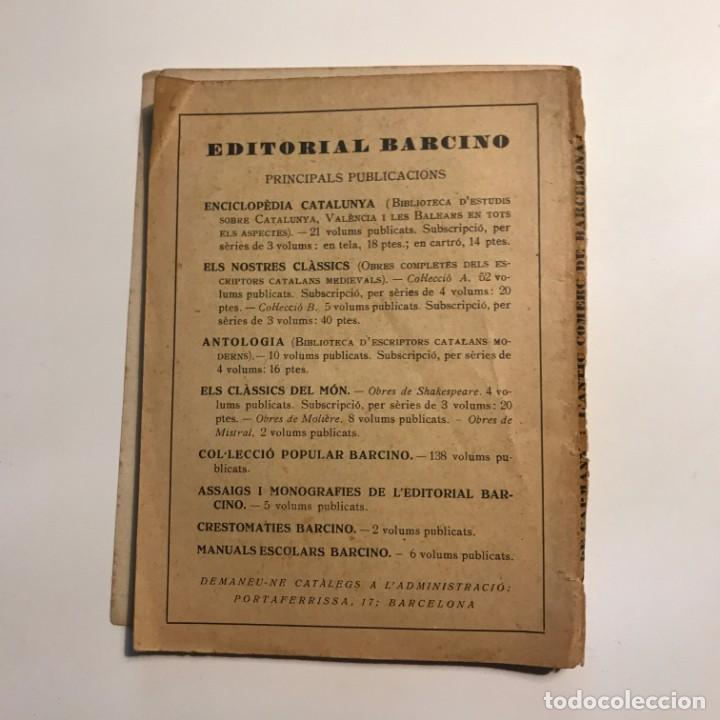 Libros antiguos: 1937 L´antic comerç de Barcelona * Comercio exterior de Barcelona durante edad Media - Foto 5 - 146957110