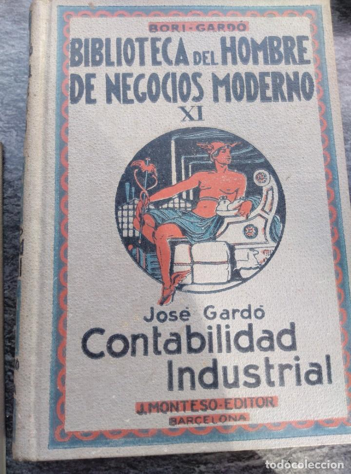 Libros antiguos: BIBLIOTECA HOMBRE NEGOCIOS MODERNO, V,VI,XI,XII. 1931,4 VOL. - Foto 4 - 147600026