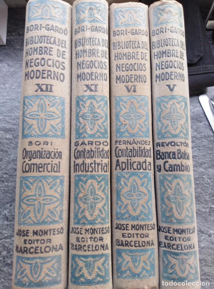 Libros antiguos: BIBLIOTECA HOMBRE NEGOCIOS MODERNO, V,VI,XI,XII. 1931,4 VOL. - Foto 7 - 147600026