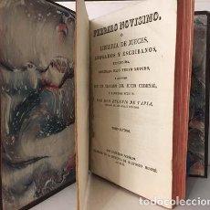 Libros antiguos: TAPIA : FEBRERO NOVÍSIMO, TOMO SEPTIMO. (1830) LIBRERÍA DE JUECES, ABOGADOS Y ESCRIBANOS . Lote 147861070