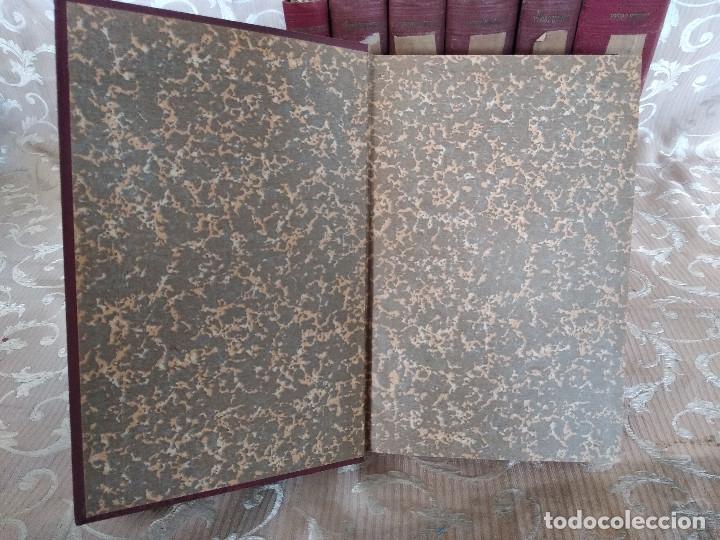 Libros antiguos: S. XIX, Impresionante enciclopedia El Abogado Popular, Huguet y Campaña, Barcelona, gran formato - Foto 6 - 148483702