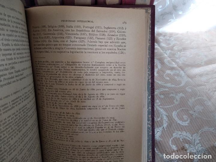 Libros antiguos: S. XIX, Impresionante enciclopedia El Abogado Popular, Huguet y Campaña, Barcelona, gran formato - Foto 12 - 148483702