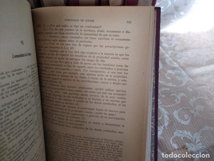 Libros antiguos: S. XIX, Impresionante enciclopedia El Abogado Popular, Huguet y Campaña, Barcelona, gran formato - Foto 14 - 148483702