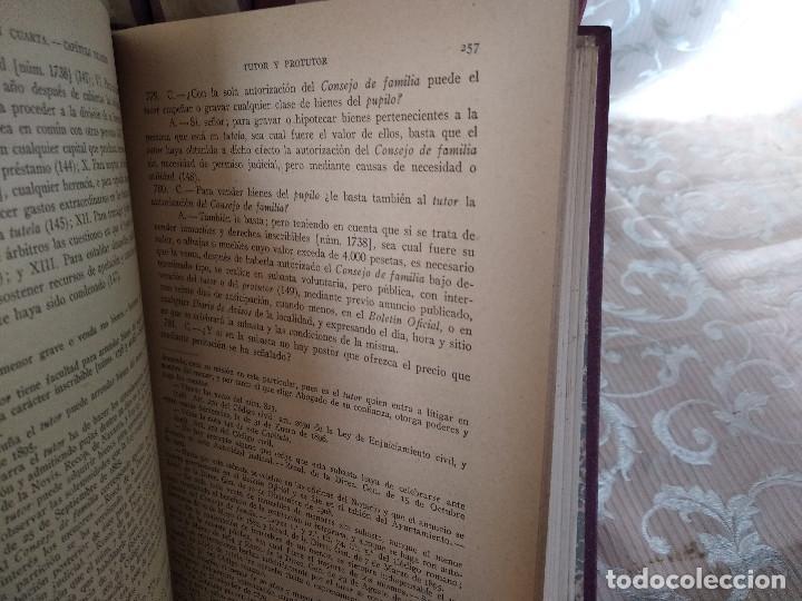 Libros antiguos: S. XIX, Impresionante enciclopedia El Abogado Popular, Huguet y Campaña, Barcelona, gran formato - Foto 15 - 148483702