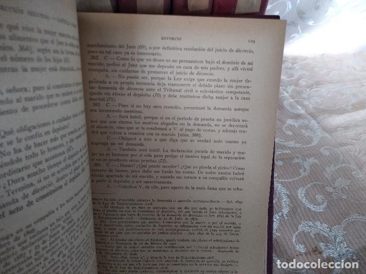Libros antiguos: S. XIX, Impresionante enciclopedia El Abogado Popular, Huguet y Campaña, Barcelona, gran formato - Foto 16 - 148483702