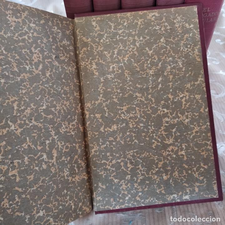 Libros antiguos: S. XIX, Impresionante enciclopedia El Abogado Popular, Huguet y Campaña, Barcelona, gran formato - Foto 23 - 148483702