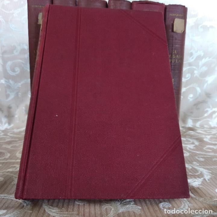 Libros antiguos: S. XIX, Impresionante enciclopedia El Abogado Popular, Huguet y Campaña, Barcelona, gran formato - Foto 24 - 148483702
