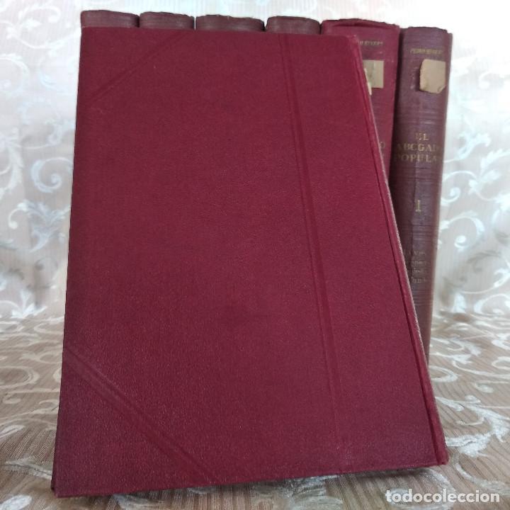 Libros antiguos: S. XIX, Impresionante enciclopedia El Abogado Popular, Huguet y Campaña, Barcelona, gran formato - Foto 25 - 148483702