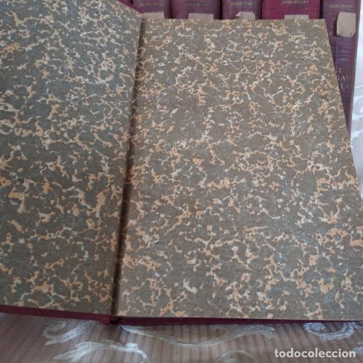 Libros antiguos: S. XIX, Impresionante enciclopedia El Abogado Popular, Huguet y Campaña, Barcelona, gran formato - Foto 26 - 148483702