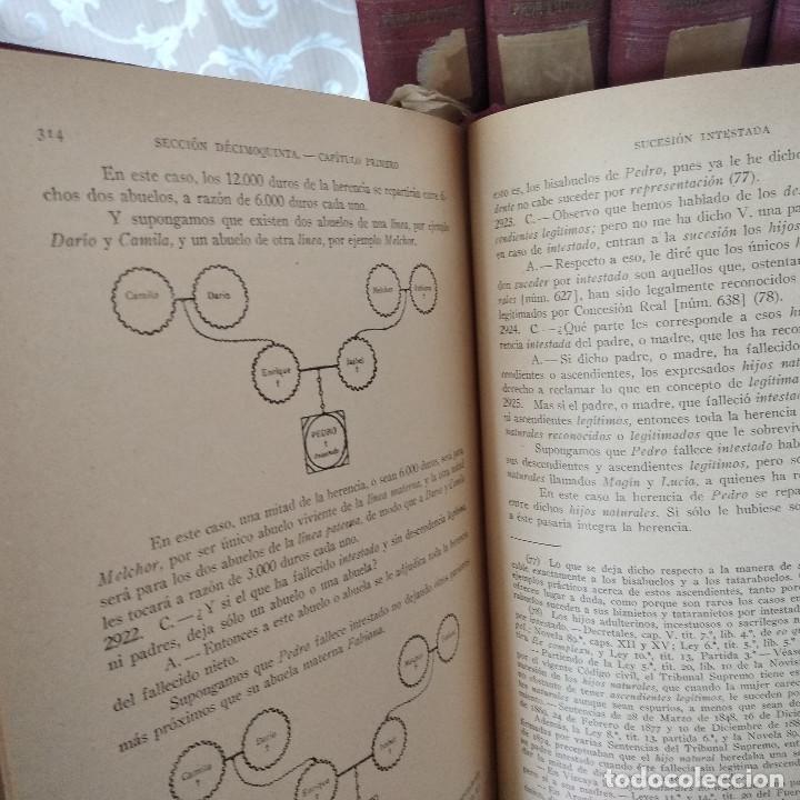 Libros antiguos: S. XIX, Impresionante enciclopedia El Abogado Popular, Huguet y Campaña, Barcelona, gran formato - Foto 29 - 148483702