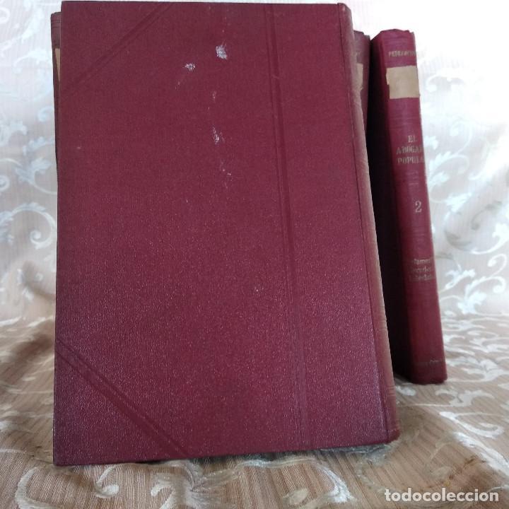 Libros antiguos: S. XIX, Impresionante enciclopedia El Abogado Popular, Huguet y Campaña, Barcelona, gran formato - Foto 32 - 148483702