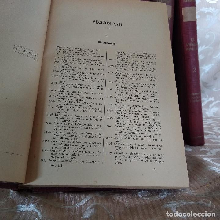 Libros antiguos: S. XIX, Impresionante enciclopedia El Abogado Popular, Huguet y Campaña, Barcelona, gran formato - Foto 36 - 148483702