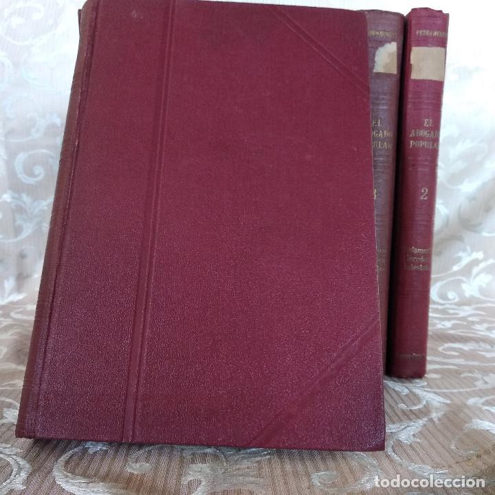 Libros antiguos: S. XIX, Impresionante enciclopedia El Abogado Popular, Huguet y Campaña, Barcelona, gran formato - Foto 38 - 148483702