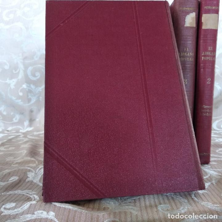 Libros antiguos: S. XIX, Impresionante enciclopedia El Abogado Popular, Huguet y Campaña, Barcelona, gran formato - Foto 39 - 148483702