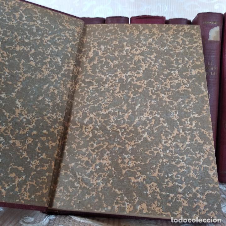 Libros antiguos: S. XIX, Impresionante enciclopedia El Abogado Popular, Huguet y Campaña, Barcelona, gran formato - Foto 40 - 148483702