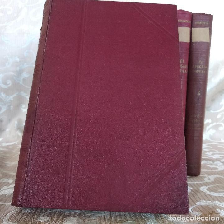 Libros antiguos: S. XIX, Impresionante enciclopedia El Abogado Popular, Huguet y Campaña, Barcelona, gran formato - Foto 43 - 148483702
