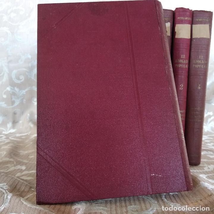 Libros antiguos: S. XIX, Impresionante enciclopedia El Abogado Popular, Huguet y Campaña, Barcelona, gran formato - Foto 44 - 148483702