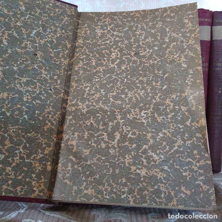 Libros antiguos: S. XIX, Impresionante enciclopedia El Abogado Popular, Huguet y Campaña, Barcelona, gran formato - Foto 45 - 148483702