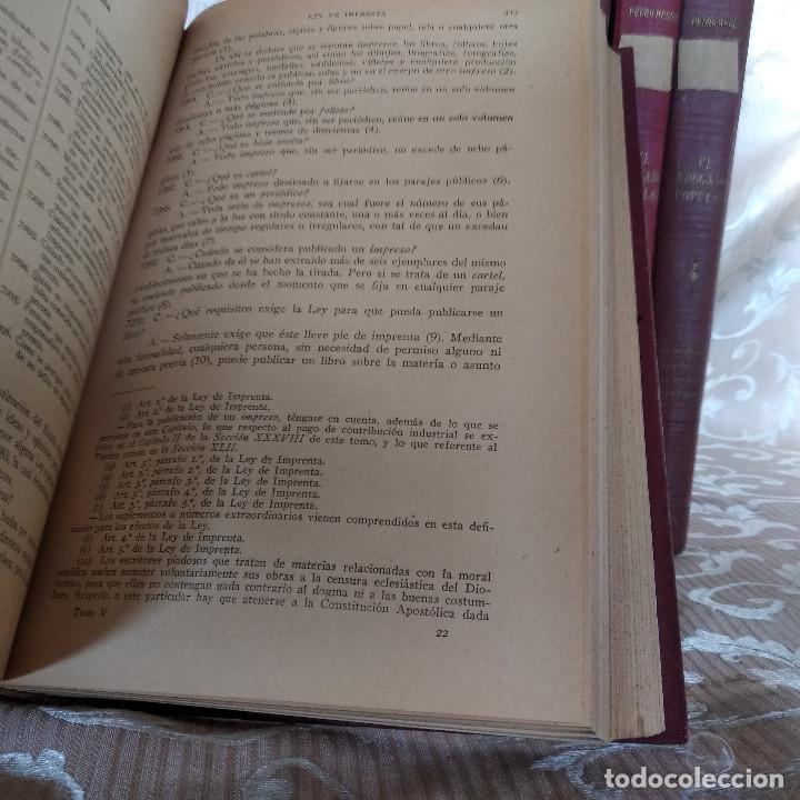 Libros antiguos: S. XIX, Impresionante enciclopedia El Abogado Popular, Huguet y Campaña, Barcelona, gran formato - Foto 47 - 148483702