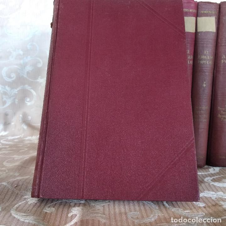 Libros antiguos: S. XIX, Impresionante enciclopedia El Abogado Popular, Huguet y Campaña, Barcelona, gran formato - Foto 48 - 148483702