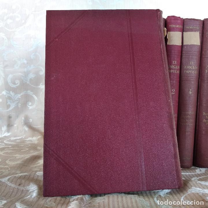 Libros antiguos: S. XIX, Impresionante enciclopedia El Abogado Popular, Huguet y Campaña, Barcelona, gran formato - Foto 49 - 148483702