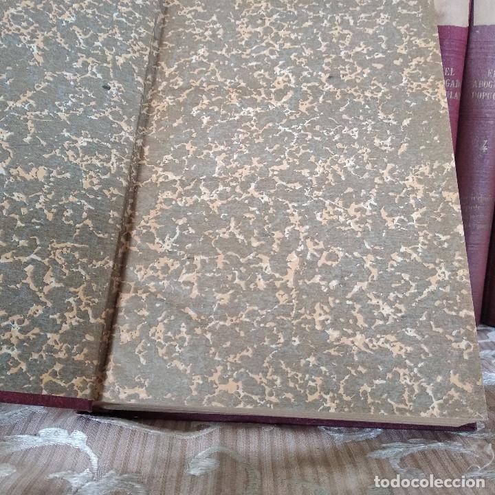 Libros antiguos: S. XIX, Impresionante enciclopedia El Abogado Popular, Huguet y Campaña, Barcelona, gran formato - Foto 50 - 148483702