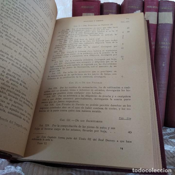 Libros antiguos: S. XIX, Impresionante enciclopedia El Abogado Popular, Huguet y Campaña, Barcelona, gran formato - Foto 52 - 148483702