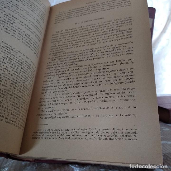 Libros antiguos: S. XIX, Impresionante enciclopedia El Abogado Popular, Huguet y Campaña, Barcelona, gran formato - Foto 57 - 148483702