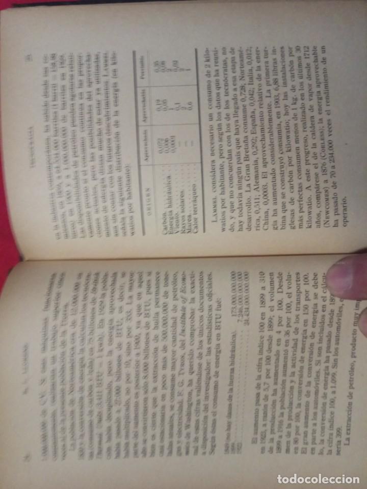 Libros antiguos: ¿Qué Es La Tecnocracia? / Eduardo L. Llorens.1933. - Foto 5 - 148581198