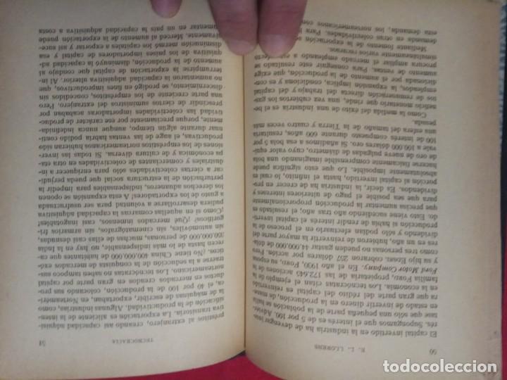 Libros antiguos: ¿Qué Es La Tecnocracia? / Eduardo L. Llorens.1933. - Foto 6 - 148581198