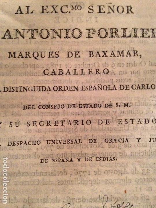 Libros antiguos: Libro derecho xviii pergamino tapas - Foto 3 - 148584350