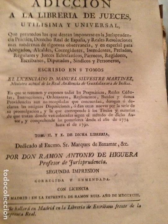 LIBRO DERECHO XVIII PERGAMINO TAPAS (Libros Antiguos, Raros y Curiosos - Ciencias, Manuales y Oficios - Derecho, Economía y Comercio)