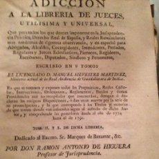 Libros antiguos: LIBRO DERECHO XVIII PERGAMINO TAPAS. Lote 148584350