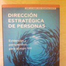 Libros antiguos: DIRECCION ESTRATEGICA DE PERSONAL. JAIME CABRERA IZQUIERDO, ANGEL BONACHE PÉREZ. PRETINCE HALL. . Lote 149686762