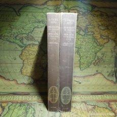 Libros antiguos: BIBLIOGRAFÍA DE DERECHO CIVIL, MERCANTIL Y PROCESAL CIVIL. TOMOS I Y II. AGUILAR 1956.. Lote 149955758