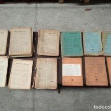 Libros antiguos: GRAN LOTE DE MAS DE 100 REVISTAS DE DERECHO PRIVADO - ENTRE LOS AÑOS 1917 Y 1936 - . Lote 151273866