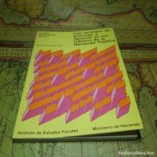 Libros antiguos: LOS RECARGOS DE PRÓRROGA Y APREMIO EN LOS TRIBUTOS DE LA HACIENDA PÚBLICA. M.T. SOLER ROCH. 1974.. Lote 151423322