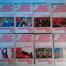 Libros antiguos: HISTORIA GENERAL DEL SOCIALISMO 8 TOMOS. Lote 152223590