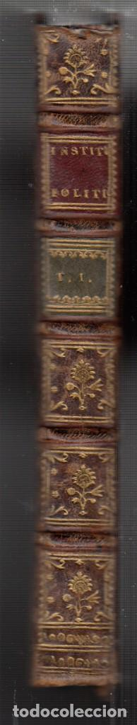 Libros antiguos: BARÓN DE BIELFELD: INSTITUCIONES POLÍTICAS. TOMOS I Y II: DEL INTERIOR DE UN ESTADO. 1767-1777 - Foto 2 - 154284958