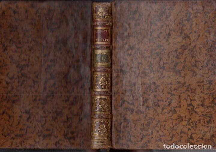 Libros antiguos: BARÓN DE BIELFELD: INSTITUCIONES POLÍTICAS. TOMOS I Y II: DEL INTERIOR DE UN ESTADO. 1767-1777 - Foto 3 - 154284958