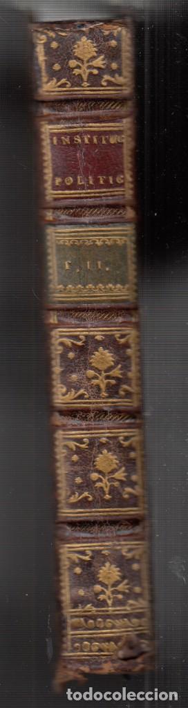 Libros antiguos: BARÓN DE BIELFELD: INSTITUCIONES POLÍTICAS. TOMOS I Y II: DEL INTERIOR DE UN ESTADO. 1767-1777 - Foto 6 - 154284958
