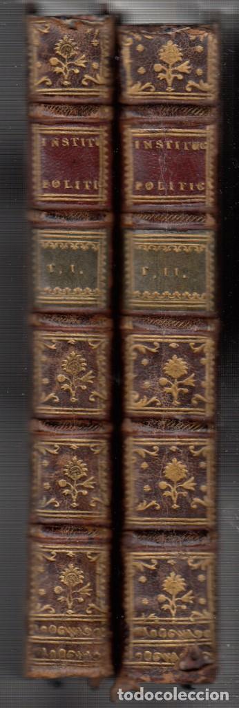 Libros antiguos: BARÓN DE BIELFELD: INSTITUCIONES POLÍTICAS. TOMOS I Y II: DEL INTERIOR DE UN ESTADO. 1767-1777 - Foto 8 - 154284958
